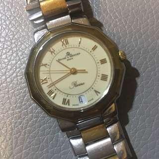 Baume & Mercier Riviera 18k Stainless Steel Watch