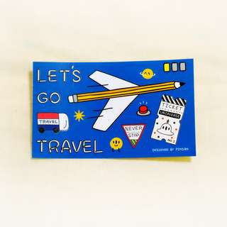 宇宙旅行Let's GO 票卡/悠遊卡貼紙