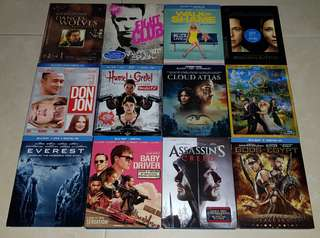 Various Bluray with dvd Part 2 | All with slipcase | Price Listed in the description