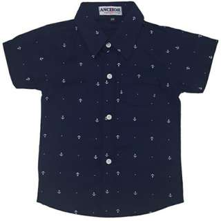 Anchor DARK BLUE SMALL HOOK Shirt
