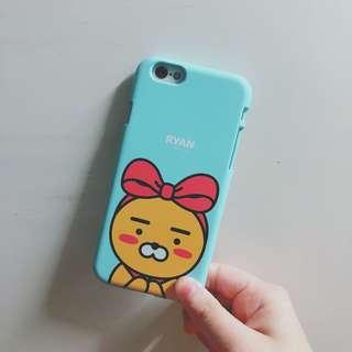 [iphone 6/6s case]正版kakaotalk ribbon ryan phonecase