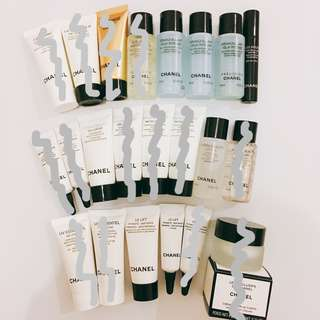 Chanel skincare samples