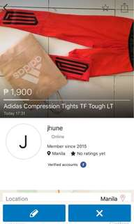 Adidas Techfit Compression Full Thights