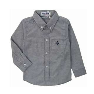 Anchor GREY Unisex Long Sleeve Shirt