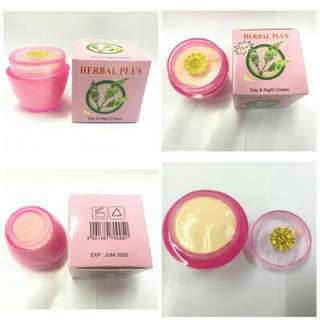 Cream Herbal Plus Original Day&Night