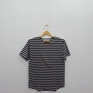 Stripe Short Sleeve Tees