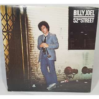 Billy Joel 52nd Street Vinyl Record 33rpm. NM