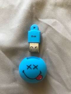 Smiley 8GB USB Flash Drive