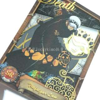 【航海王珍藏卡 羅 醫生 SR卡 SR-010】卡片 卡牌 卡 收藏卡 海賊王 珍藏卡 Law 托拉法爾加·D·瓦特爾