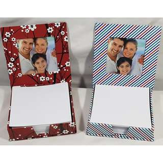 "Any 2 Photo Desk Notes With 3"" X 3"" Photo Plus 170 Note Papers (Mix & Match)"