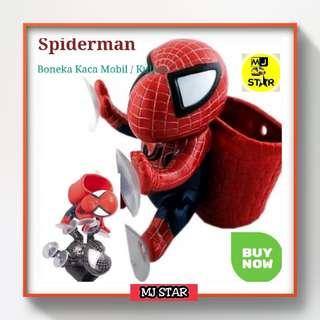 Boneka Spiderman Versi Keranjang