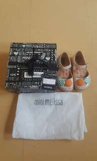 Mini Melissa shoes authentic  (2 shoes for the price of 1)