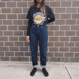 Vintage high waisted levis