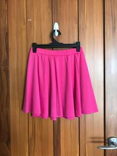 Pink ASOS mini skirt
