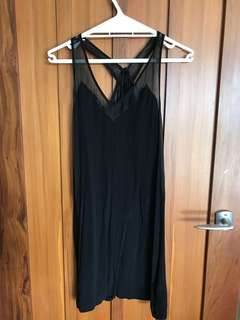 Glassons mesh black dress