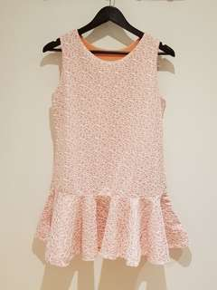 BRAND NEW - Salmon Fishtail Dress
