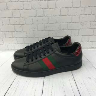 SEPATU GUCCI SNAEKER SHOES ORI LEATHER HIGH QUALITY FOR MEN #