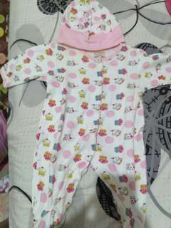 Cupcake  Sleepsuit set
