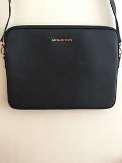Michael Kors Leather Laptop Sleeve / Bag
