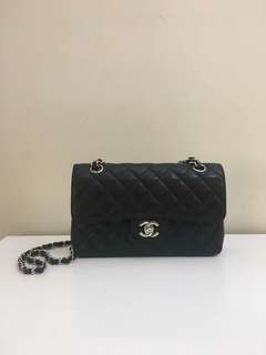 Chanel Small Caviar Double Flap Bag