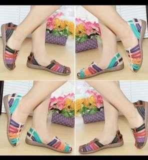 Sepatu Sandal Ori... merk Mulan