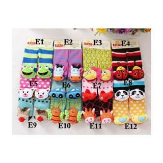 3D Rattle Socks Set E (Suitable For 6-18M)