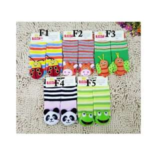 3D Rattle Socks Set F (Suitable For 6-18M)