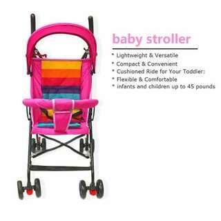 Lightweight Stroller - PINK