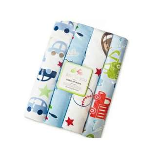 4 in 1 Cotton Baby Blanket (BIG) (Set 16)