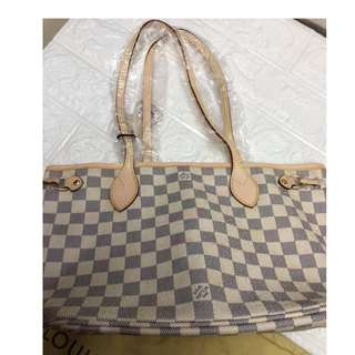 SALE LV Neverfull Tote Bag