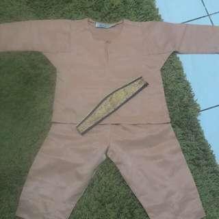 Baju Melayu Kanak2