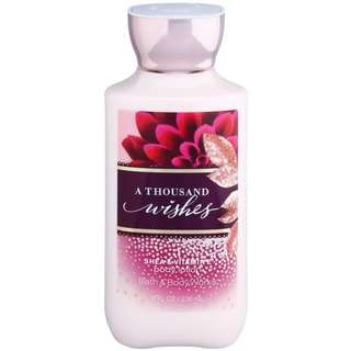 A thousand Wishes Body Lotion