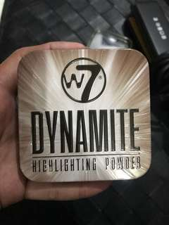 "REPRICED!! Brand New ""W7"" Dynamite Highlighting Powder"