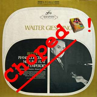 walter gieseking Vinyl LP used, 12-inch, may or may not have fine scratches, but playable. NO REFUND. Collect Bedok or The ADELPHI.
