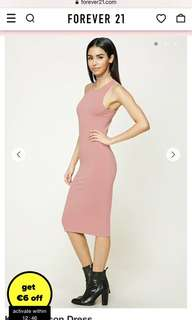 Body con pink dress
