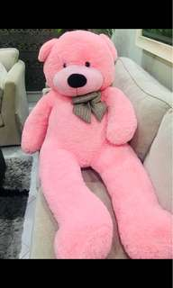 160cm Big Pink Teddy Bear