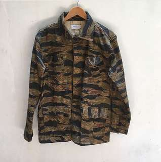 Elhaus tiger stripe jacket