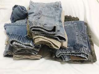 Bundle!!10 Shorts & Pants for babies & toddler