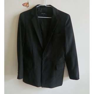 二手ZARA BASIC黑色女西装外套 M