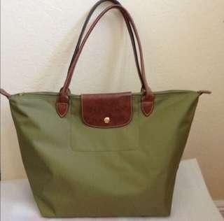 Longchamp Bag L size olive