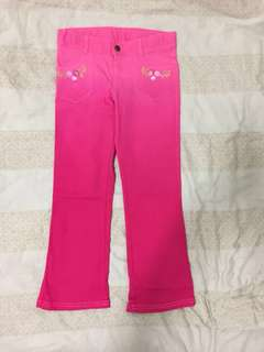 Girl's Disney Princess Pink Pants