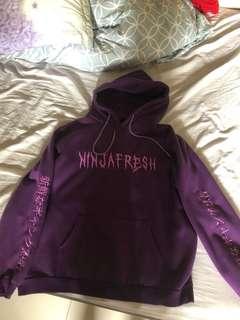ninja fresh 帽t 紫色