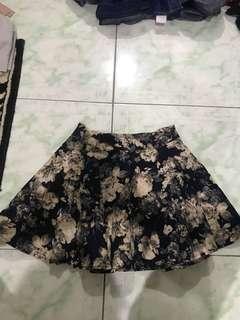 REPRICED!! Floral skirt
