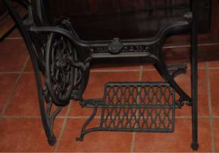 Antique Wertheim Cast Iron Frame