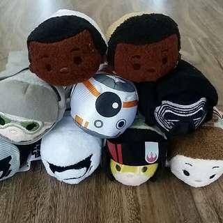 Disney Store Tsum Tsum (Star Wars 'The Force Awakens' set)