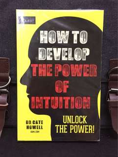 "《New Book + How To Enhance Our Inner Voice or ""Six Sense"" 》Dr Cate Howell - HOW TO DEVELOP THE POWER OF INTUITION : Unlock The Power!"