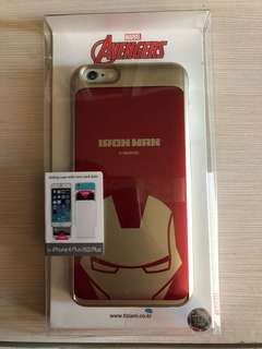 原廠 iPhone 6  plus iPhone 6s Plus Iron Man case