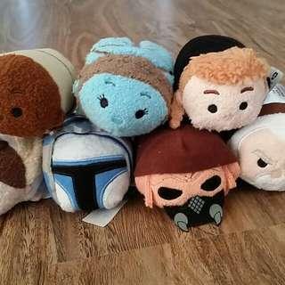 Disney Store Tsum Tsum (Star Wars 'Episode 2: Attack of the Clone)