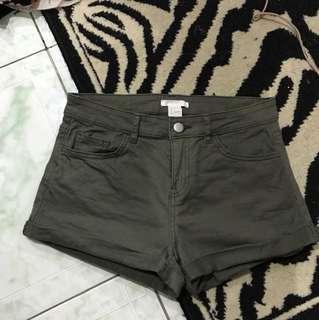 "Repriced!! ""H&M"" highwaisted denim shorts"