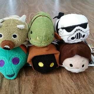 Disney Store Tsum Tsum ('Star Wars Tatooine' set)